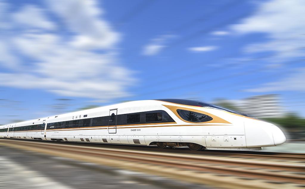 永城到上海高铁
