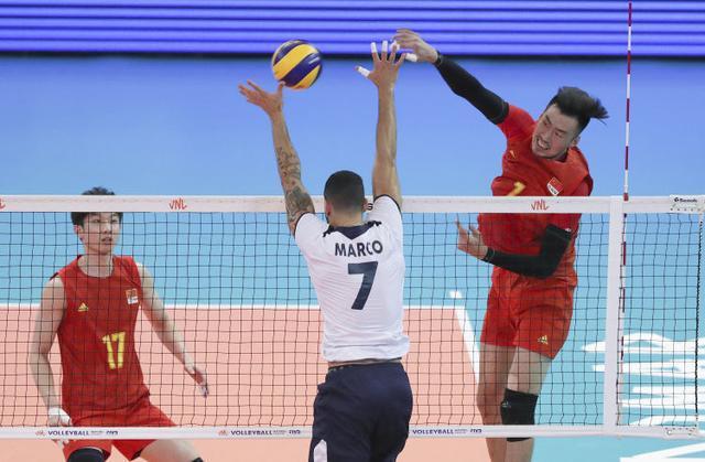 世界男排联赛贡多马尔站 中国0:3不敌葡萄牙排名垫底