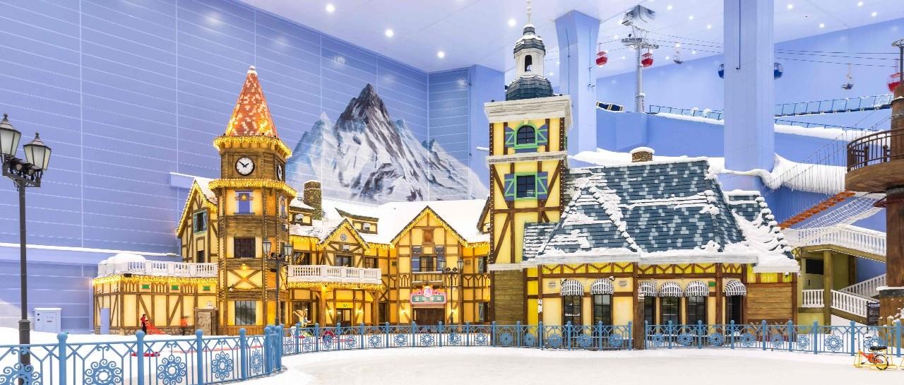 乐探丨想看雪何必远方?75000㎡滑雪场让人直呼过!瘾!嗨翻盛夏就靠它