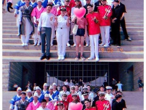 新鲜热乎的蹦米可爱上线!KEY参加军乐队演出,上演制服诱惑!