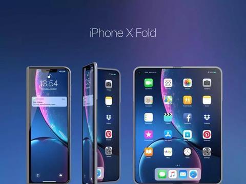 iPhone X Fold或将于2020年推出,使得Mate20让路新机价崩