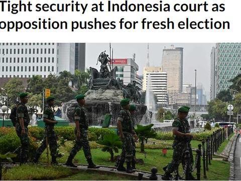 继续不服,印尼败选将军普拉博沃正在推动新选举 雅加达戒备森严