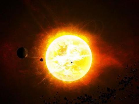 太阳是如何在没有氧气的真空环境中燃烧的?科学家:太阳不是燃烧