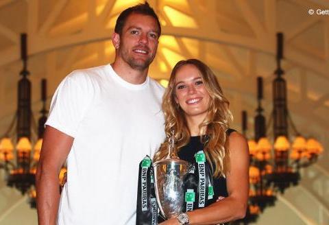 恭喜!曝18年澳网冠军沃兹将完婚 丈夫系前勇士冠军球星大卫李