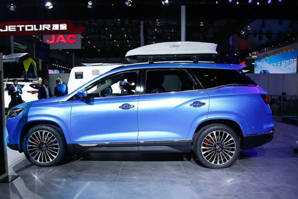 三季度上市 7座中型SUV捷途X95即将下线