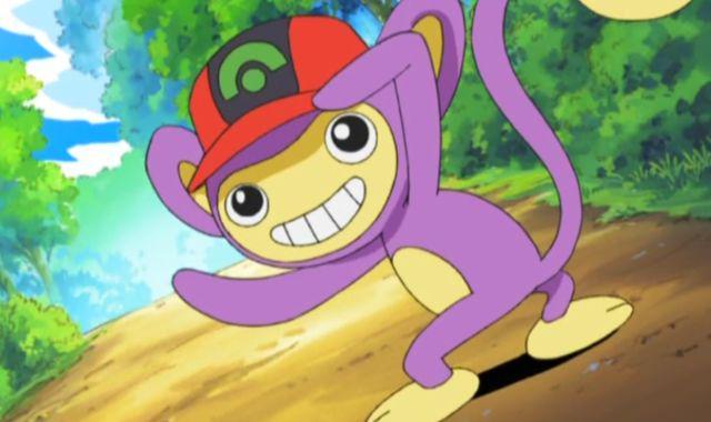 当神奇宝贝戴上小智的帽子,皮卡丘暴走,猴怪直接进化被收服!