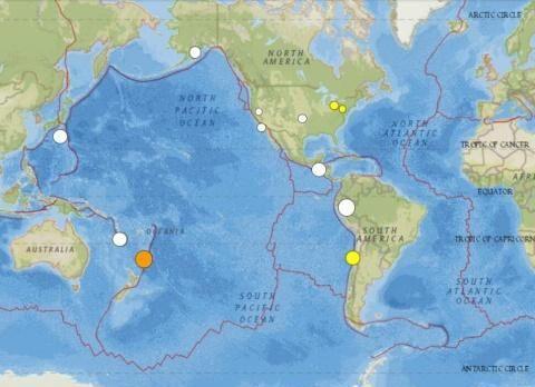 1小时内两次强震!2019年6月以来最强地震发生,最高一个7.2级