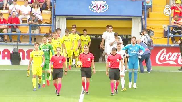 U19青年国王杯半决赛,第一回合,比利亚雷亚尔主场1-0击败皇马
