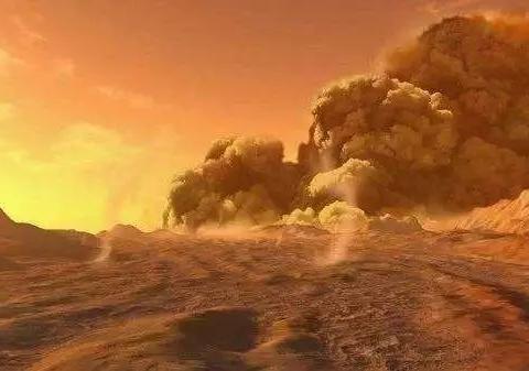 恐怖不?火星上的沙尘暴,能持续时间超过6天!