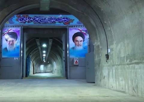 伊朗公开地下掩体画面,洞库导弹能让美军有来无回?