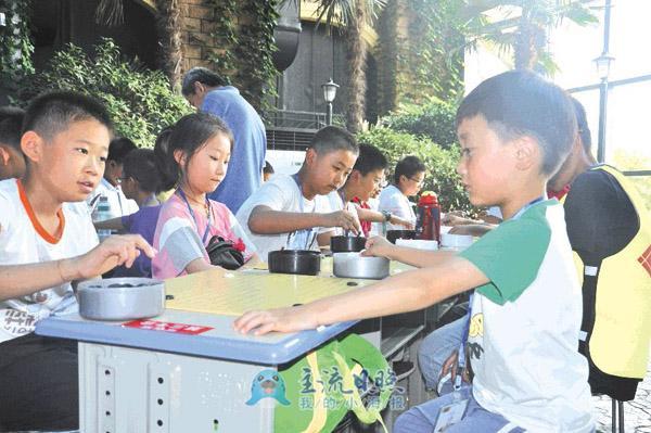 日照东港区青少年围棋锦标赛开赛