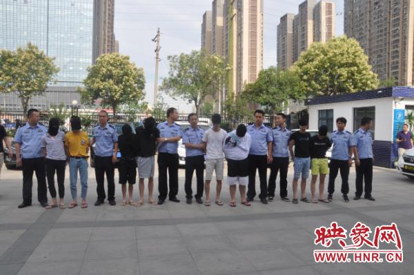 郑州未来路警方转战数千公里 成功捣毁一个电信诈骗团伙