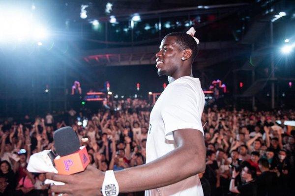 阿迪达斯足球运动员保罗-博格巴开启中国行 展现非凡创造力