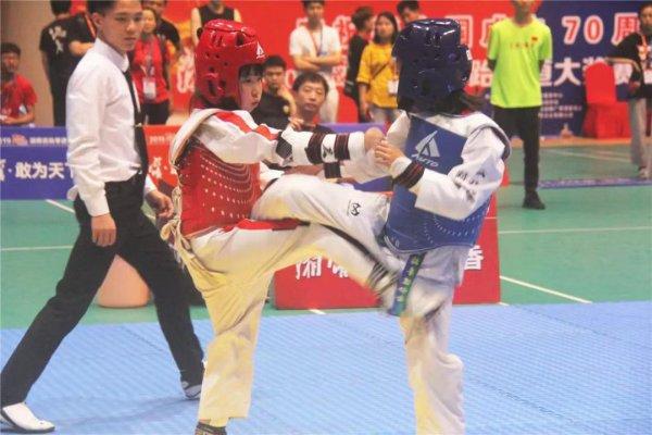 2019战湘江湖南省跆拳道大奖赛益阳分区赛收官