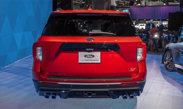 """福特又一""""王牌""""亮相,红色车身,四出排气,3.0T拥有400马力!"""