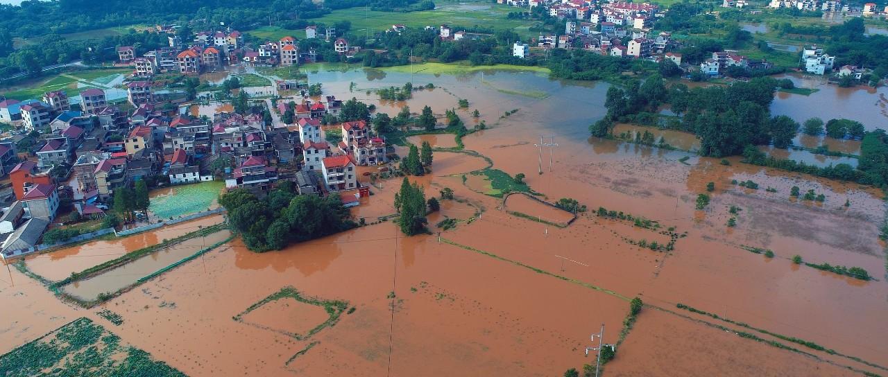 持续6天!明起强降雨来袭 赣江上中游可能发生大洪水