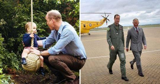 威廉王子晒父亲节合影 网友不干了:乔治和夏洛特呢