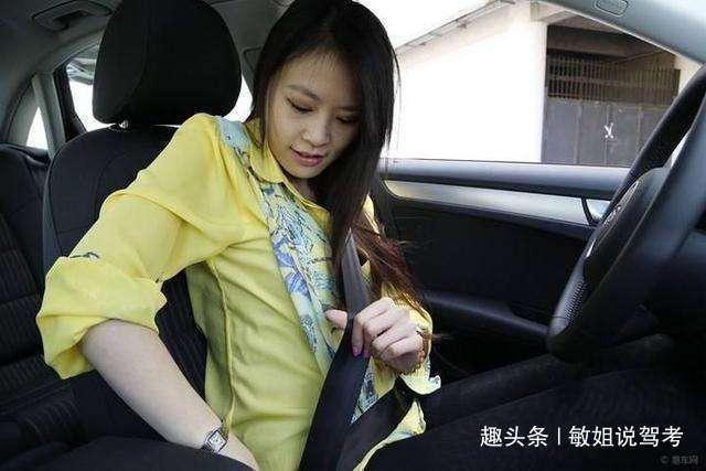 女学员科目二考试,车子还没起步就挂科,网友:紧张惹的祸!