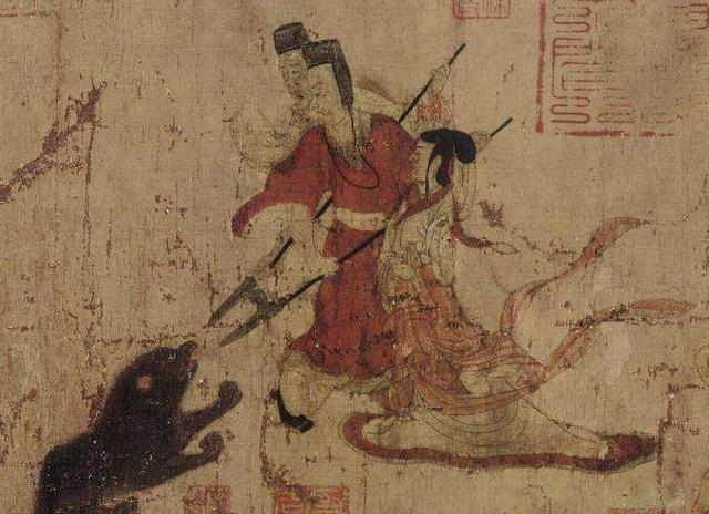 文物解读之司马金龙墓出土漆画屏风