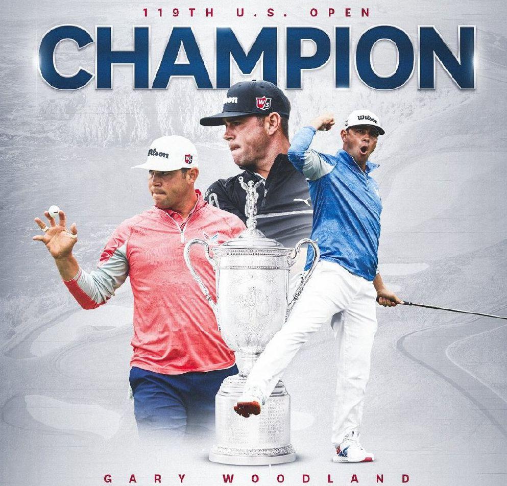 高尔夫美国公开赛新科冠军:与中