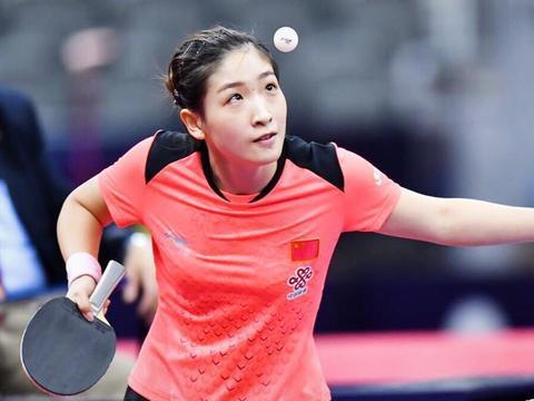 刘诗雯展望奥运会:努力训练 保持好的竞技状态