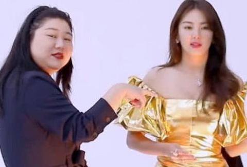 160斤女经纪人偷吃张雨绮的水果,张雨绮怒道:快给我放下!