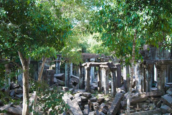 罗雷寺,这里是最古老的罗洛士遗址之一。