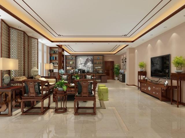 128平米三居室装修注意事项,中式风格好不好?-永和家园装修