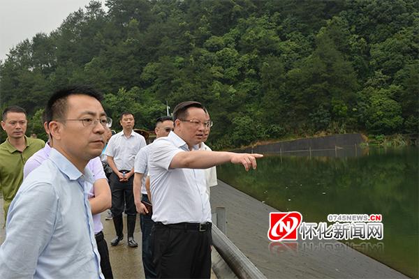 [怀化] 雷绍业在中方县督导防汛工作:全力确保安全度汛