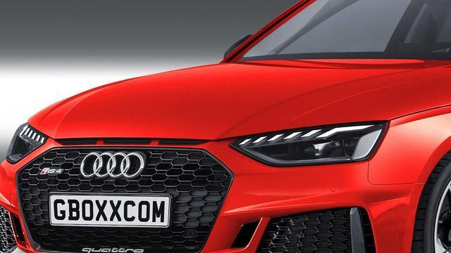 2020款奥迪RS4 Sedan合成图 要是真推出和RS5你选谁?