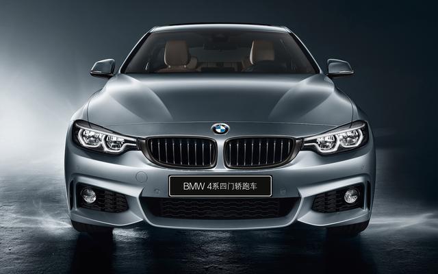 新增多项数字化配置,BMW 4系四门轿跑车2019款上市