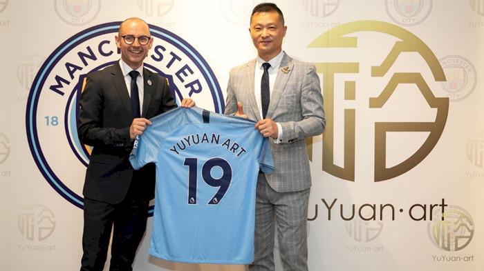 曼城与深圳裕苑艺术集团建立合作关系,寻求艺术与足球的结合点