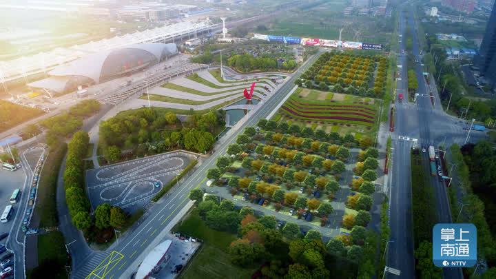 效果图出来了!南通火车站生态智能停车场动工 新增500多个泊位