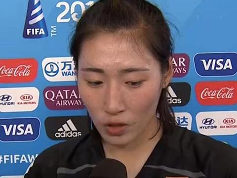 中国美女门将全场8次扑救获最佳!对手赛后竖起大拇指