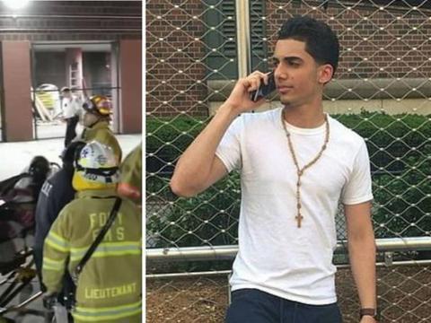 19岁男青年为救陌生女孩冲进火场遭80%灼伤 两人皆不幸身亡