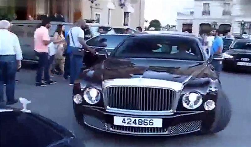 """最""""贵""""的宾利慕尚,车价1598万,全球仅一台,为卡塔尔皇室使用"""
