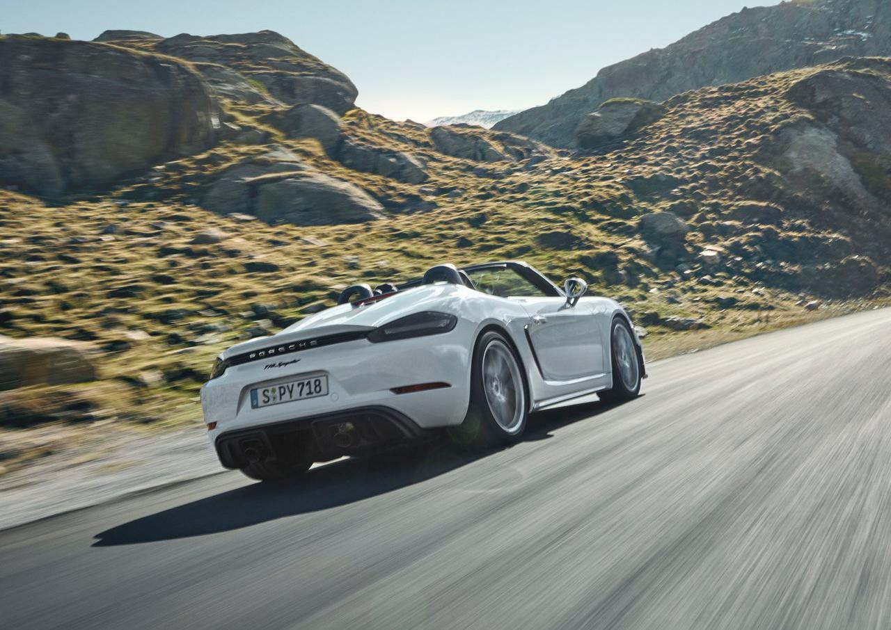 自吸&手动挡!保时捷718 Cayman GT4/Spyder官图发布!