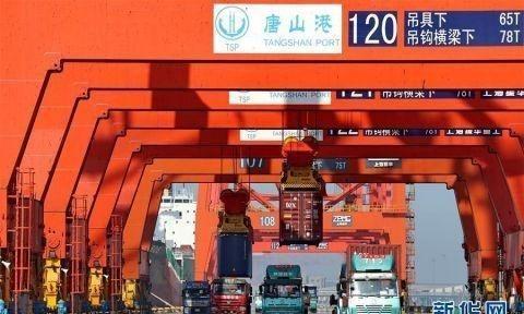 唐山港1至5月货物吞吐量2.65亿吨