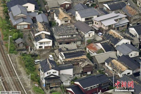 日政府就地震召开阁僚会议 安倍要求防范次生灾害