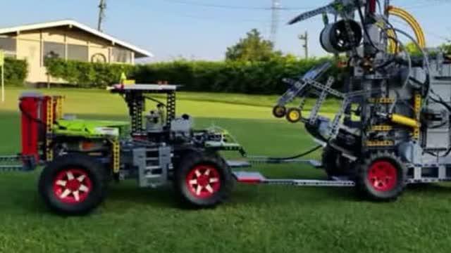 无所不能的乐高,乐高的农业机械设备