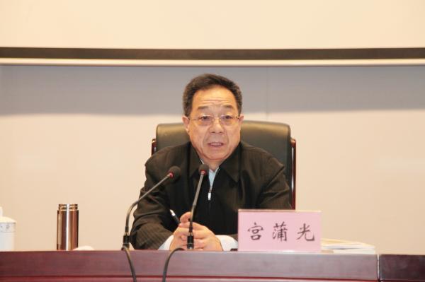 民政部原副部长宫蒲光当选为中华慈善总会会长