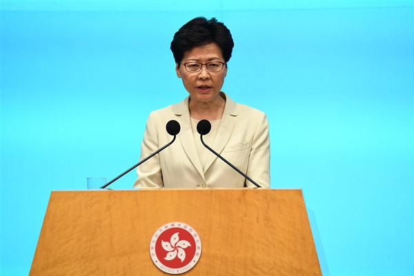 林郑月娥昨天道歉,最新民调显示七成香港市民力挺特首,社会各界盼尽快恢复平静