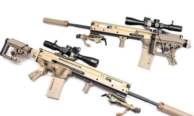 美国土豪枪迷展示DIY版SCAR 20S步枪 改造成本与枪价相当