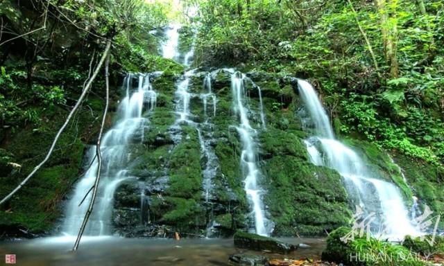 桂东:峡谷瀑布群 观光新亮点