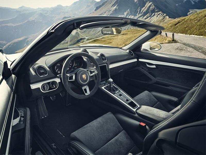 自吸+手动 保时捷718 Cayman GT4和718 Spyder官图发布