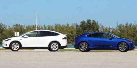 捷豹I-PACE和特斯拉Model X到底谁更强?