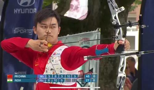 中国射箭创造新历史 江苏射箭运动员丁倚亮助力国家队夺世界冠军