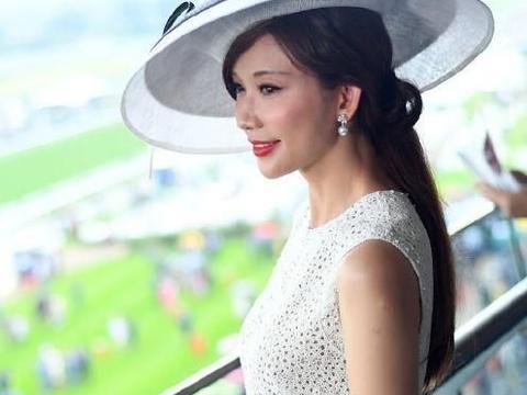 林志玲婚后首亮相,盛装出席英国王室赛马场合