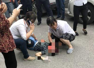 南京警方通报10岁女童被高空坠物砸中重伤:8岁男童所为