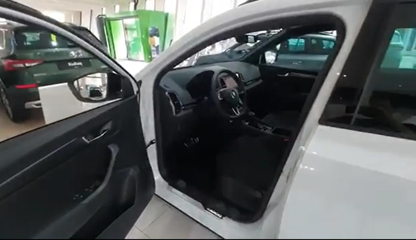 斯柯达的运动版不同于GTI 19款柯珞克sport 版本到店实拍